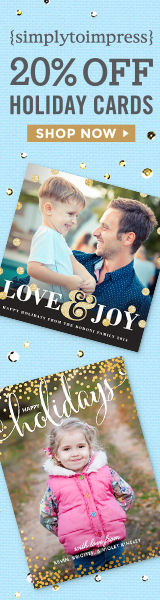 Click to Save 20% on Personalized Cards & Invitations from SimplyToImpress.com