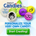 Personalize Candy Banner