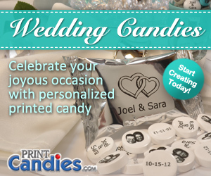 PrintCandies.com Wedding Candies