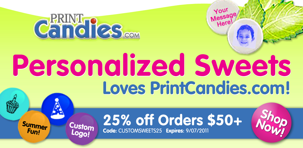 991x484 Personalized Sweets Banner