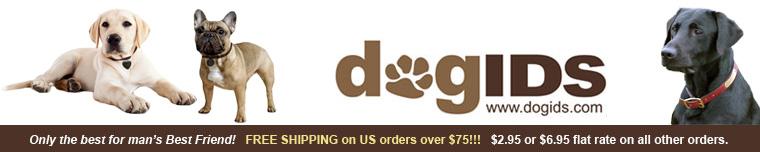 Dog id banner
