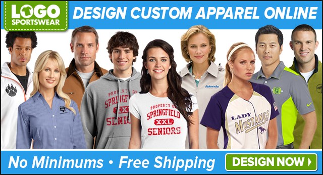LogoSportswear - 640x356 - Custom Apparel Affiliate Ad - Custom Apparel