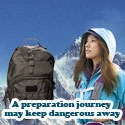 A Preparation Journey May Keep Danger Away!