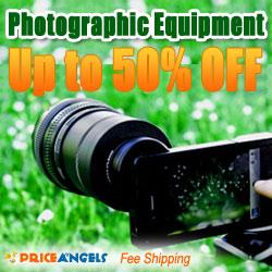 photographic equipment on sale.