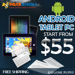Free Shipping+Low Price ,Android Tablet PCs Start From $55. Diversified Tablet PCs For You  To Choose.EXP:JUNE 20,2012. Why Not Snap Up Promoted Tablet PCs Now?