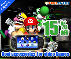 15%OFF For All Video Games @PriceAngels.