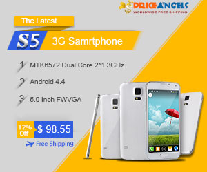 The Latest PA-S5 Full-Scale Android 4.4 MTK6572 Dual Core 3G Smartphone.Enjoy 12%OFF before 05/01/2014.