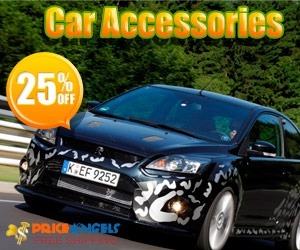 20%OFF for Car Accessories@Priceangels. Free Shipping.