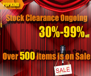 stock clearance 30%-99% OFF over 500 items