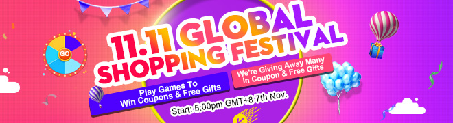 11.11 Global Shopping Festival Big Sale
