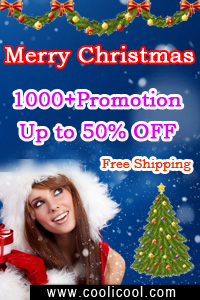 1000+ Daily Promotion & 50% OFF at www.CooliCool.com