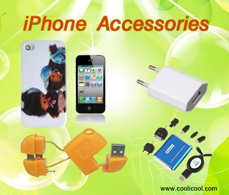Hot iPhone Accessories at CooliCool.com