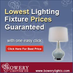Lowest Lighting Fixture Prices