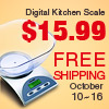 Just $15.99,Free Shipping — Digital kitchen scale