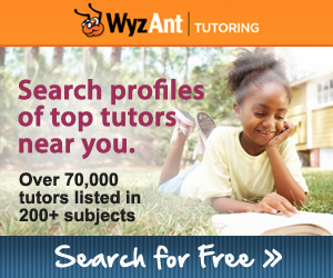 Search for a private tutor today!