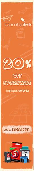 ComboInk 20% Off Storewide - code GRAD20