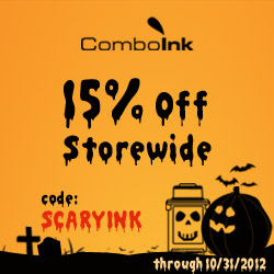 Halloween Sale: 15% Off On Ink and Toner at ComboInk.com (code: SCARYINK))