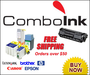 ComboInk Free Shipping Orders over $50