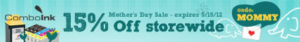 ComboInk 15% Off Any Order Storewide - code MOMMY