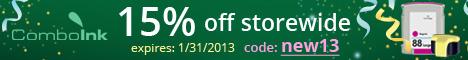 15% Off Storewide! - code: NEW13