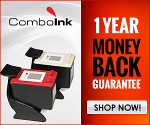 Combo Ink offers 1 year money back guarantee
