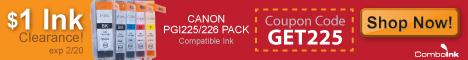 Canon PGI225/226 CMYK 5-Pack