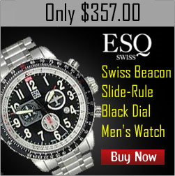Free Shipping on ESQ Swiss Mens Watch at WristWatch.com