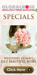120x240 - Wedding Specials - 100 Blizzard Roses