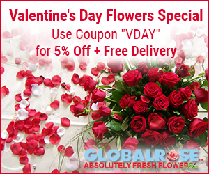 Flower Special For Valentine´s Day