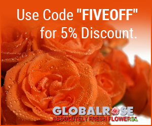 Thanksgiving Flower Special! 5% Discount