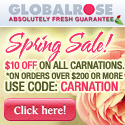 125x125 - $10 OFF Carnation