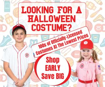 Are you ready for Halloween? The best costumes go fast; get yours today and beat the rush.