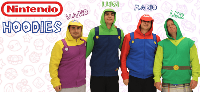 Nintendo Hoodie at TVStoreOnline