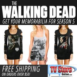 Walking Dead Memorabilia