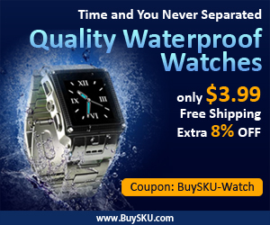 Time and You Never Separated,Quality Waterproof Watches,Only $3.99+Free Shipping+ Extra 8% OFF,Coupon: BuySKU-Watch