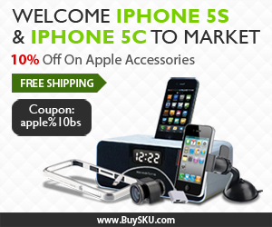 Welcome iPhone 5S & iPhone 5C to Market, 10% OFF+Free Shipping, Apple Accessories Exclusive Coupon: apple%10bs