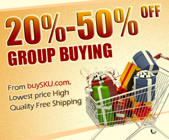 50%-80%OFF Group Buying From BuySKU.com, Lowest price High Quality Free Shipping by HooGo INC