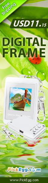 1.5-inch TFT LCD 8MB Mini Digital Photo Frame Keychain