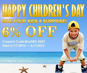Happy Children's Day!Give your kids a surprise!
