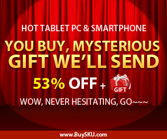 Hot Tablet PC & Smartphone, You Buy, Mysterious Gift We'll send, 53% OFF + Mysterious gift+Free Shipping