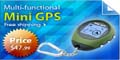 Multi-functional GPS Location Finder/Receiver Keychain