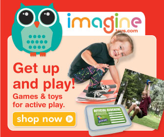Active toys will have kids playing inside and out.