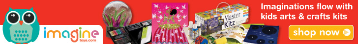 Imaginations will flow free with arts and crafts sets for kids