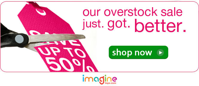 save up to 65% on over 100 toys!