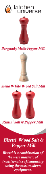 Bisetti Wood Salt & Pepper Mill