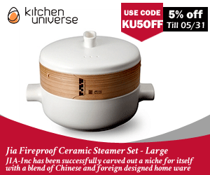Jia Fireproof Ceramic Steamer Set at Kitchen Universe