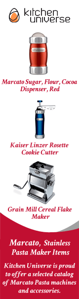 Marcato Design Biscuit Maker Cookie Press, Stainless Steel, Blue with 20 Cookie Discs