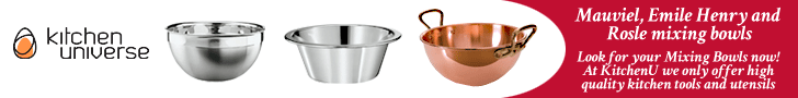 Mauviel, Emile Henry & Rosle Mixing Bowls