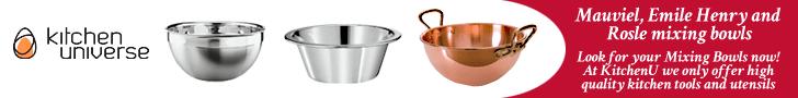 Mauviel, Emile Henry & Rosle Mixing Bowls