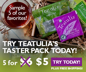 Teatulia 5 tea taster
